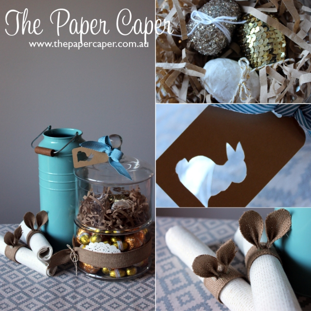 Easter display. Details @ www.thepapercaper.com.au