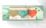 Honeycomb Heart gift box for caseingthecatty.blogspot.com.au. Details @ www.thepapercaper.com.au & www.facebook.com/papercaper