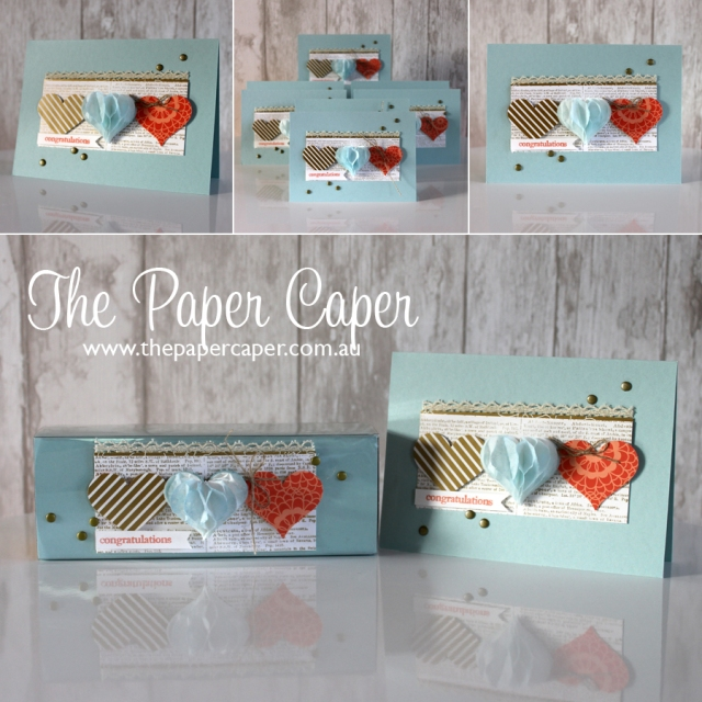 Honeycomb Hearts <3 Details @ www.thepapercaper.com.au