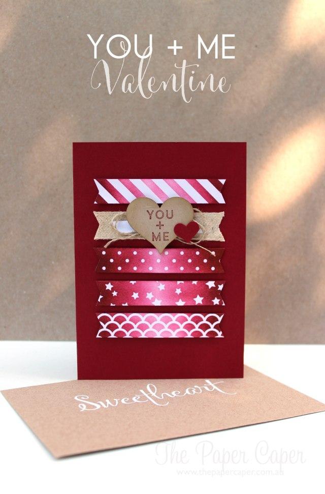 You + Me magic paper Valentine. Details @ www.thepapercaper.com.au