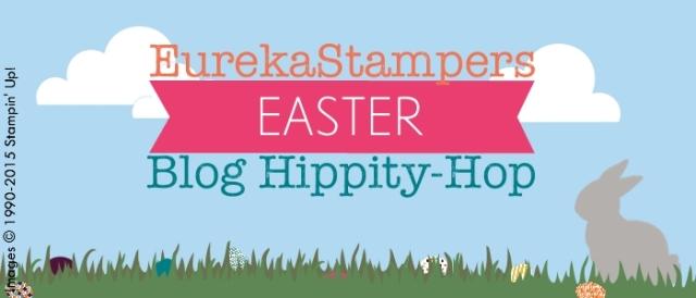 EurekaStampers Easter Blog Hippity-Hop. www.thepapercaper.com.au