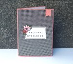 Baby girl card featuring PLxSU. Details @ www.thepapercaper.com.au. Stampin' Up! Supplies: Moments Like This Project Life card collection, Timeless Love stamp set, Alphabet Rotary stamp, Blushing Bride cardstock...