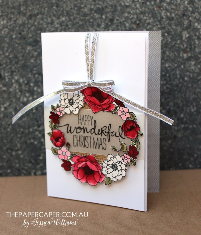 Timeless Love meets Christmas for CASEing the Catty. Details @ www.thepapercaper.com.au