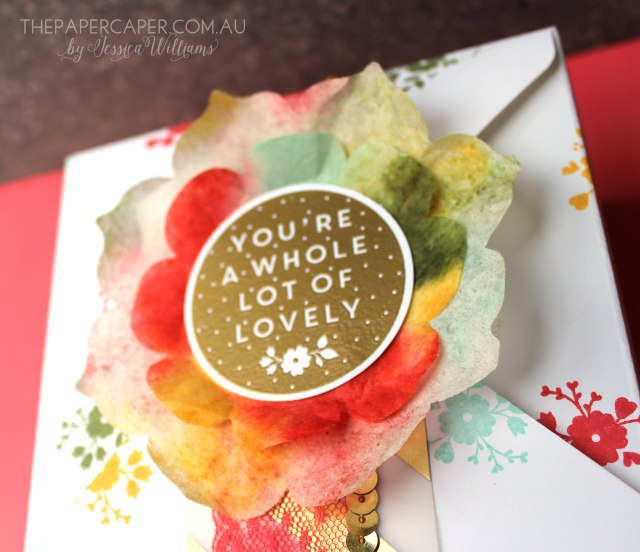 A Whole Lot of Lovely I CASEing the Catty blog hop I www.thepapercaper.com.au by Jessica Williams